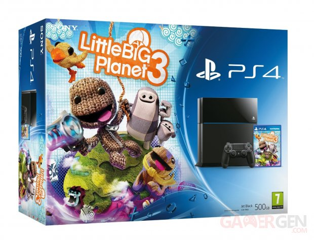 pack ps4 playstation 4 littlebigplanet 3