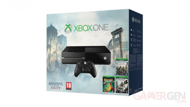 Pack Xbox One ACU
