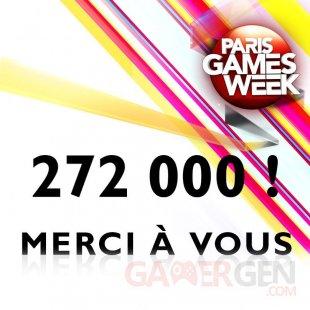 Paris Games Week 2014 chiffres