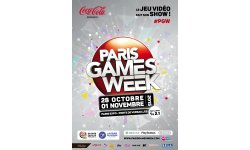 Paris Games Week 2015 poster affiche officielle