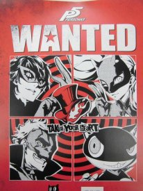Persona 5 12 09 2015 poster