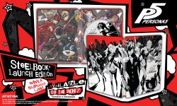 Persona 5 steelbook