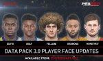 PES 2017 : date de sortie pour le Data Pack 3.0, de nouveaux visages en images