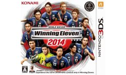 PES winninge eleven 2014 japon jaquette 3DS 08.10.2013.