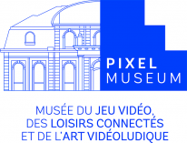 Pixel Museum logo bleu