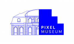 Pixel Museum logo noir agrandi