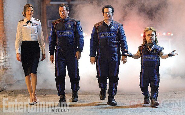 Pixels film photo