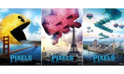 pixels posters