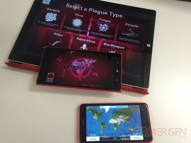 plague inc windows phone