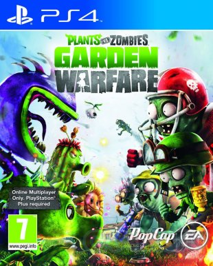 Plants vs Zombie Garden Warfare PS4