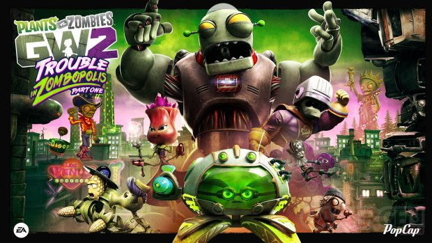 Plants vs. Zombies 2 Garden Warfare 2 mise a? jour e?te? 2016