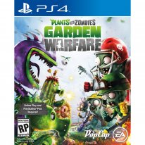 Plants vs zombies garden warfare ps4 cover boxart jaquette us ps4