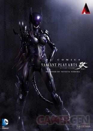 Play Arts Catwoman Tetsuya Nomura.
