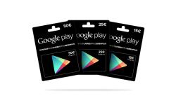 play card cartes cadeaux google play coupons