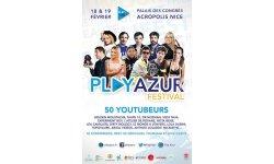 PlayAzur Festival affiche 2017