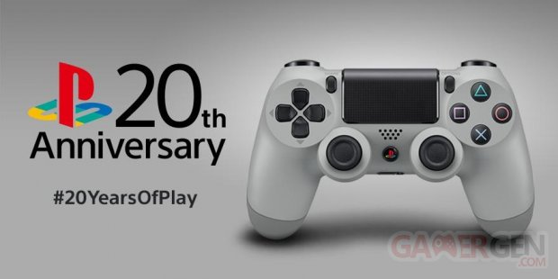PlayStation 20th Anniversary DualShock 4