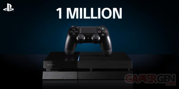 PlayStation 4 1 million
