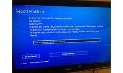 PlayStation 4 Erreur CE 34878 0