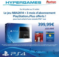 PlayStation 4 offre Auchan 1