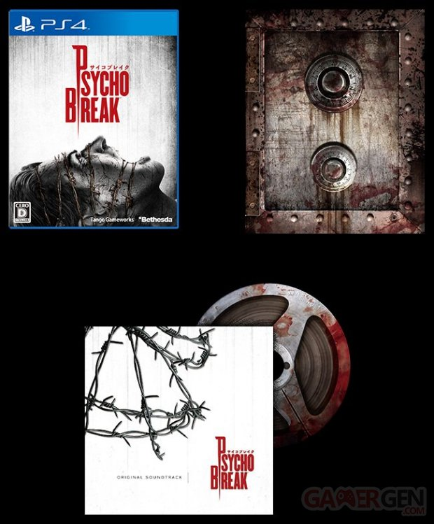 PlayStation 4 PS4 Edition limitee The Evil Within 3