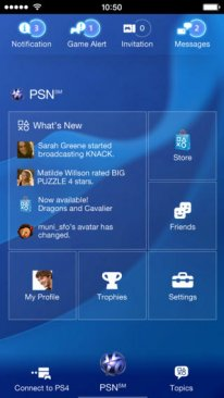playstation app iOS 1.