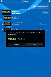 PlayStation App Tuto trophees supprimer (2)