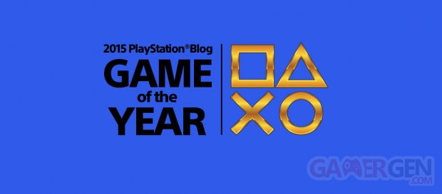 PlayStation Game of the Years Awrads 2015