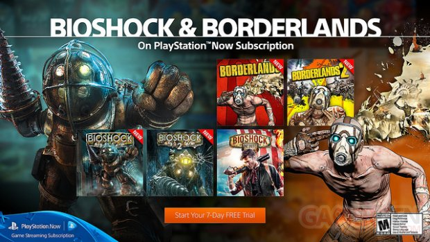 PlayStation Now 2K Games