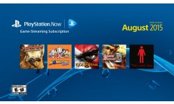 PlayStation Now aout 2015