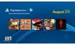 playstation now cinq jeux mois aout 2015 et support service psvita et playstation tv