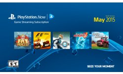 PlayStation Now jeux mois mai 2015