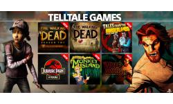 PlayStation Now jeux Telltale Games