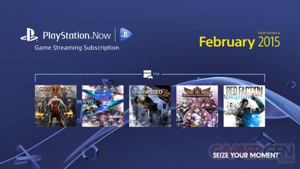 PlayStation Now mise a? jour 3 fe?vrier