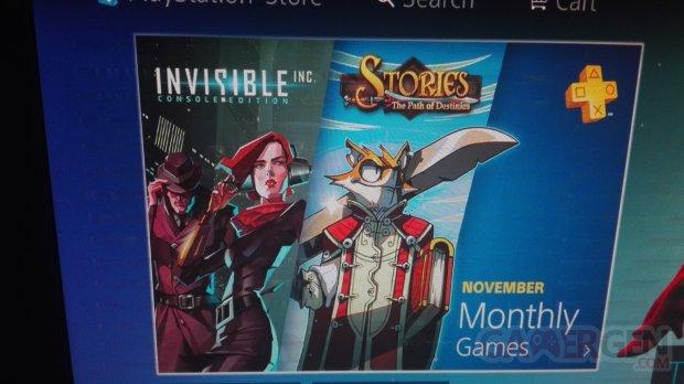 PlayStation Plus decembre offre fuite image