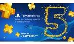 PlayStation Plus : le programme fête ses cinq ans, un