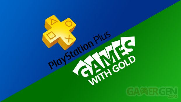 playstation plus xbox live games with gold