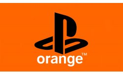 PlayStation PS Logo Orange