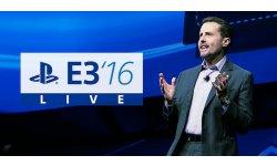 PlayStation Sony E3 2016 logo conférence live