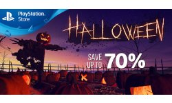 PlayStation Store Halloween image promo soldes