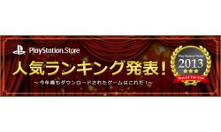 PlayStation Store japonais Top 10 annee 2013 27.12.2013.