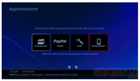 PlayStation Store SFR