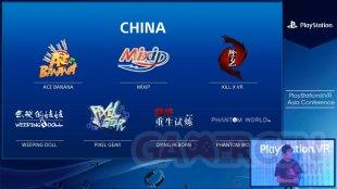 PlayStation VR jeux Asie 2