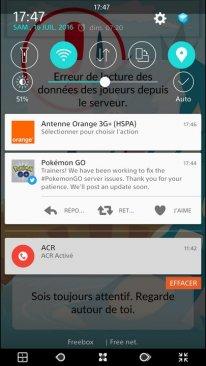 Pokémon GO panne serveurs4