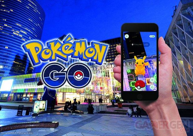 Pokémon GO partenariat Unibail