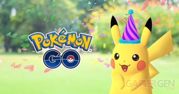 Pokémon GO Pokémon Day Pikachu