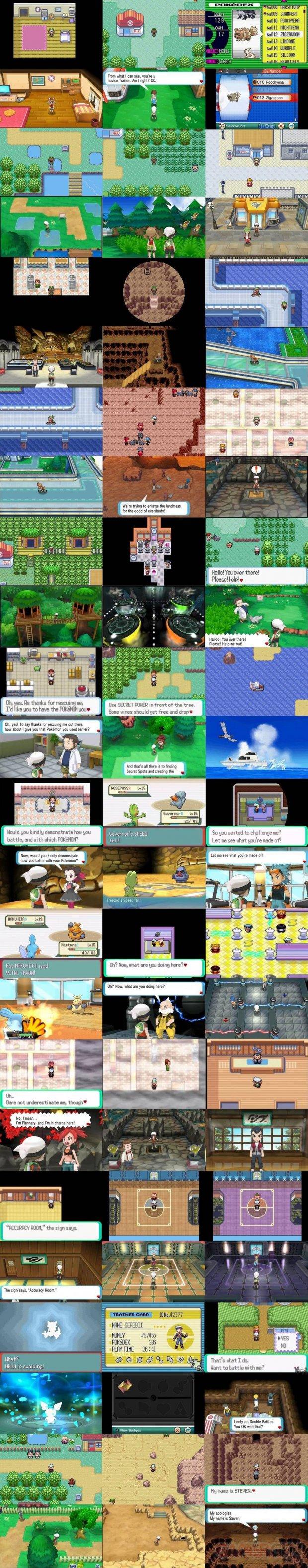 Pokémon Rubis Oméga Saphir Alpha 21 07 2014 comparaison GBA