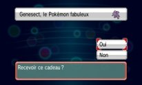 Pokémon Rubis Oméga Saphir Alpha X Y Genesect 3
