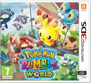 Pokémon Rumble World jaquette