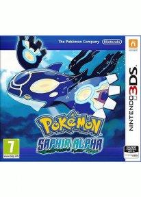 Pokémon Saphir Alpha jaquettee