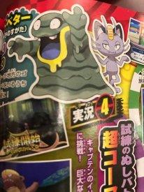 Pokémon Soleil Lune scan CoroCoro Tadmorv Alola 12 10 2016